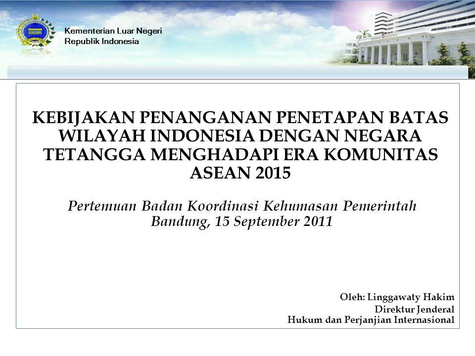 Pertemuan Badan Koordinasi Kehumasan Pemerintah