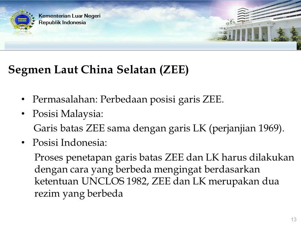 Segmen Laut China Selatan (ZEE)
