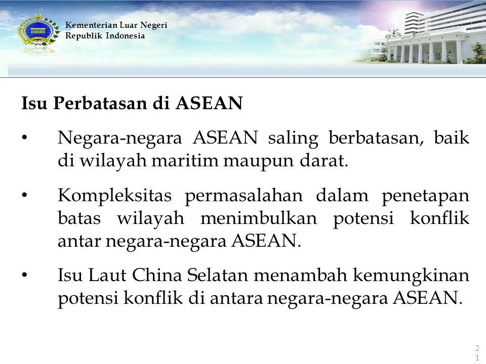 Isu Perbatasan di ASEAN