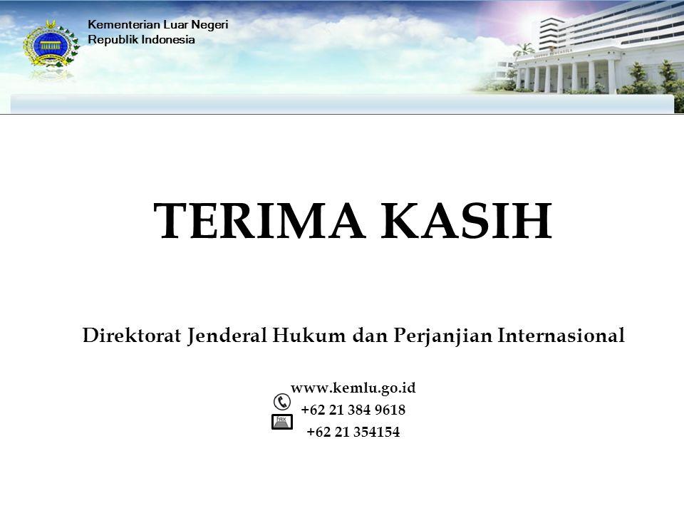 Direktorat Jenderal Hukum dan Perjanjian Internasional