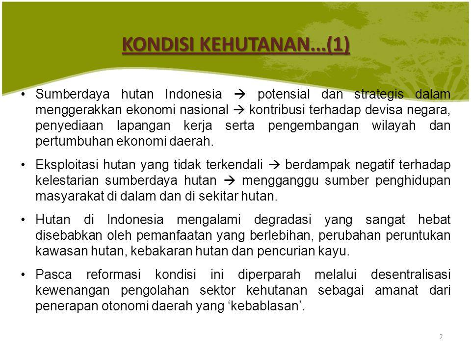 KONDISI KEHUTANAN...(1)