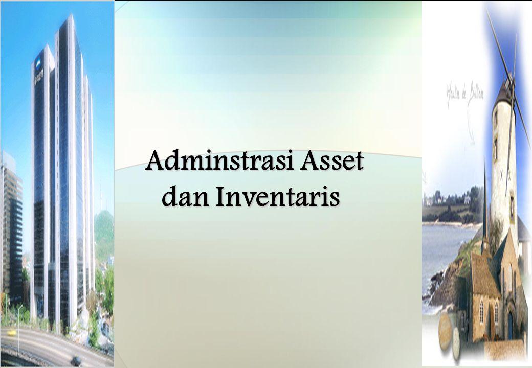 Adminstrasi Asset dan Inventaris