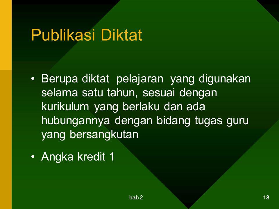 Publikasi Diktat