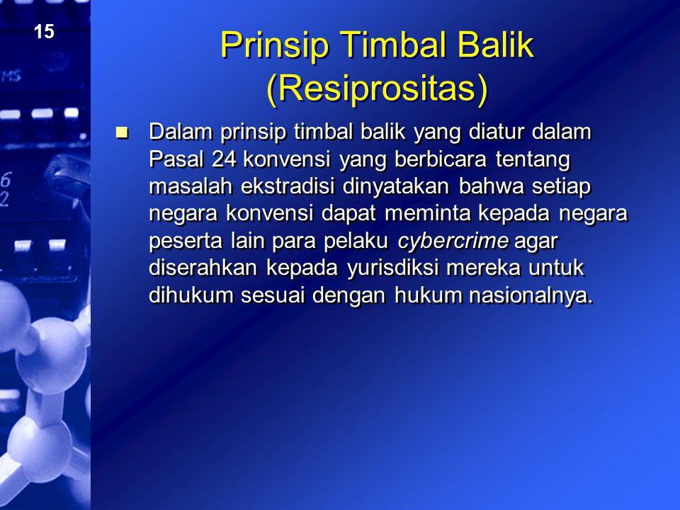 Prinsip Timbal Balik (Resiprositas)