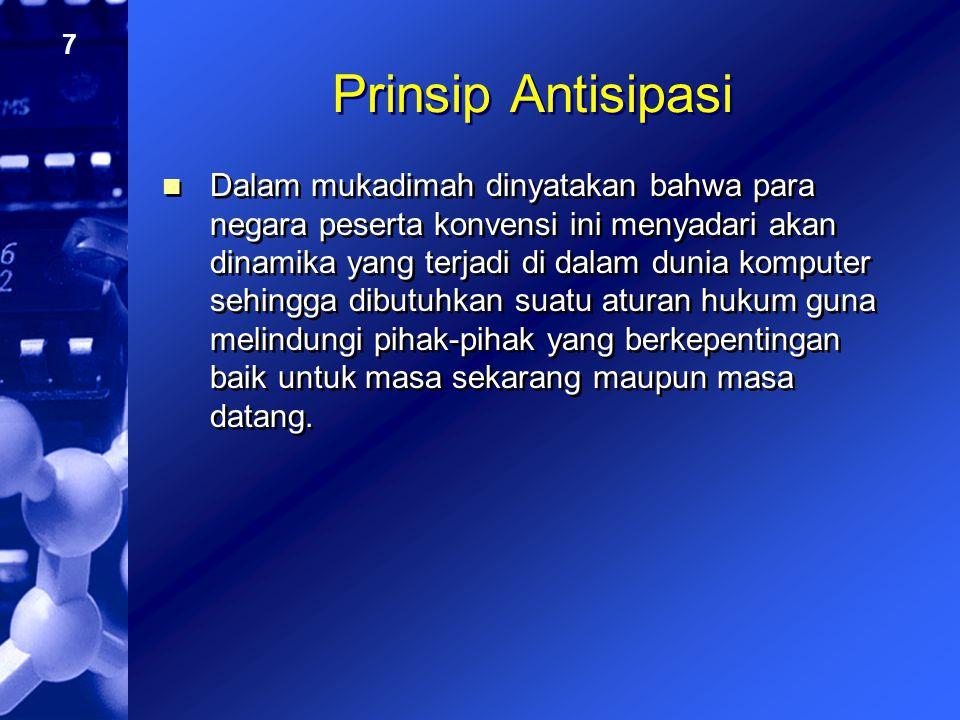 Prinsip Antisipasi