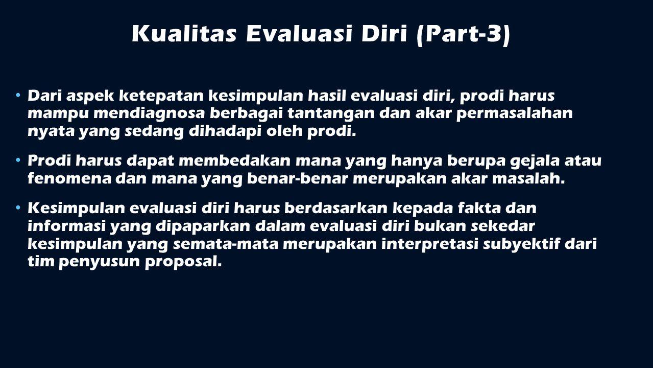 Kualitas Evaluasi Diri (Part-3)