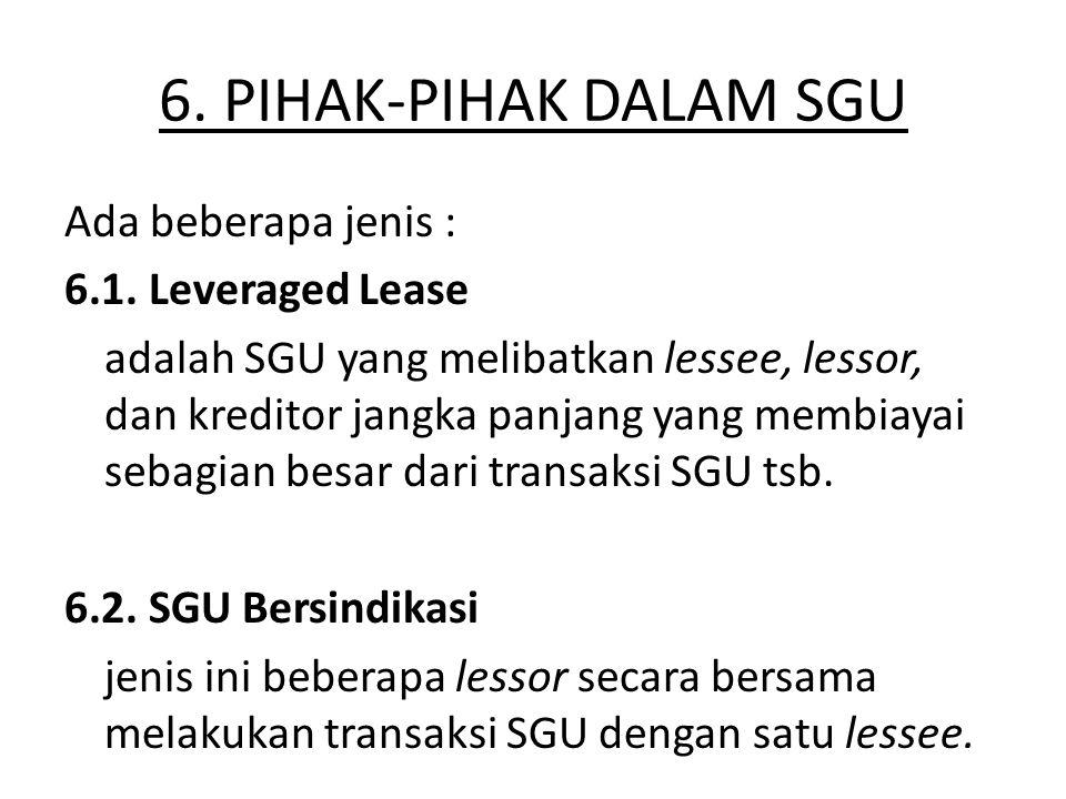 6. PIHAK-PIHAK DALAM SGU