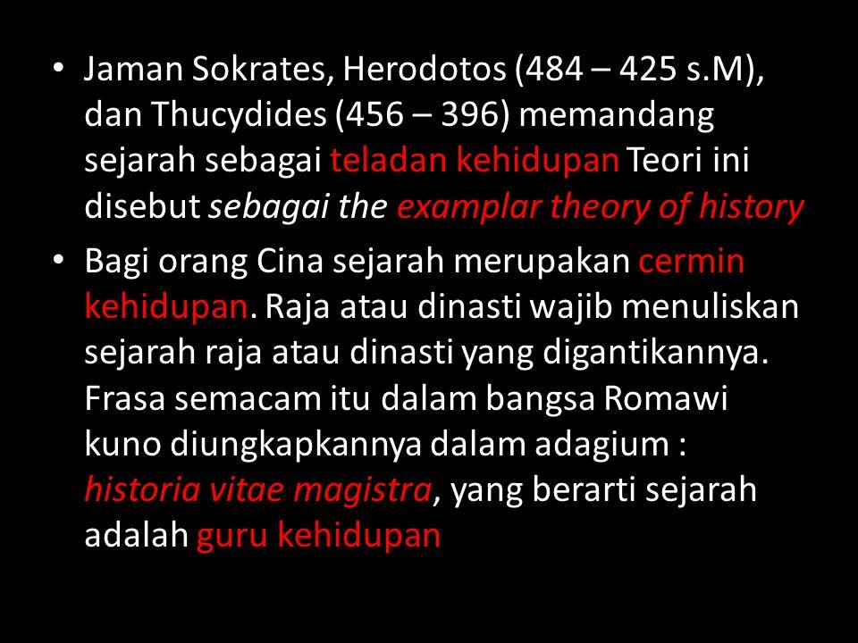 Jaman Sokrates, Herodotos (484 – 425 s