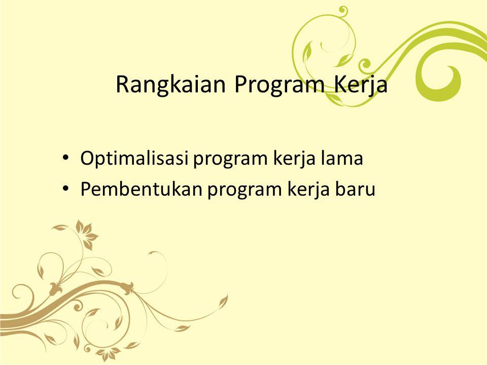 Rangkaian Program Kerja