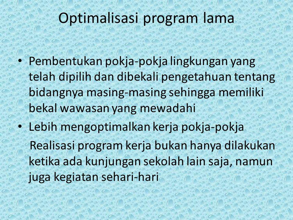 Optimalisasi program lama