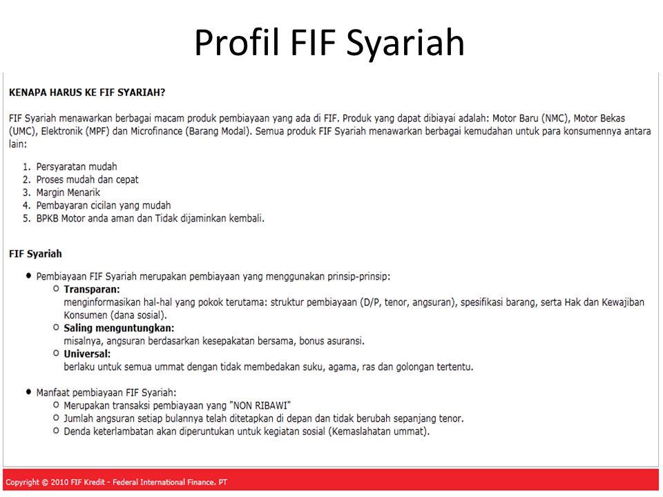 Profil FIF Syariah