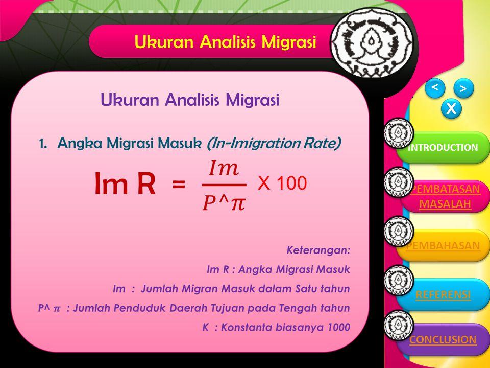 Ukuran Analisis Migrasi