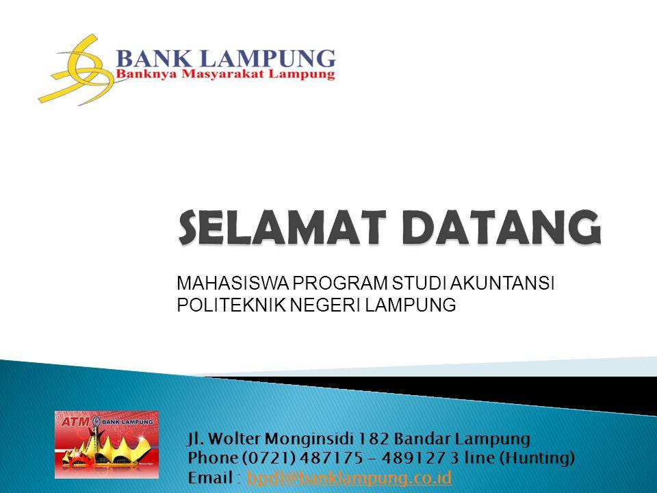 SELAMAT DATANG MAHASISWA PROGRAM STUDI AKUNTANSI POLITEKNIK NEGERI LAMPUNG.