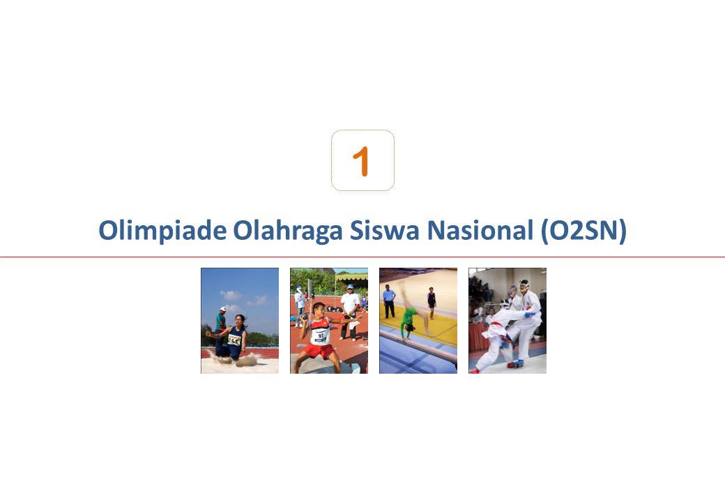 Olimpiade Olahraga Siswa Nasional (O2SN)