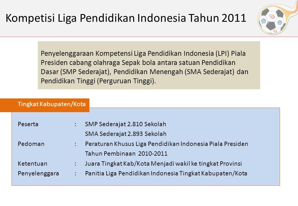 Kompetisi Liga Pendidikan Indonesia Tahun 2011