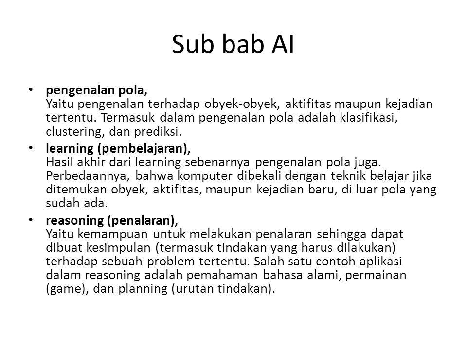 Sub bab AI