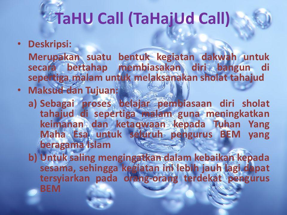 TaHU Call (TaHajUd Call)