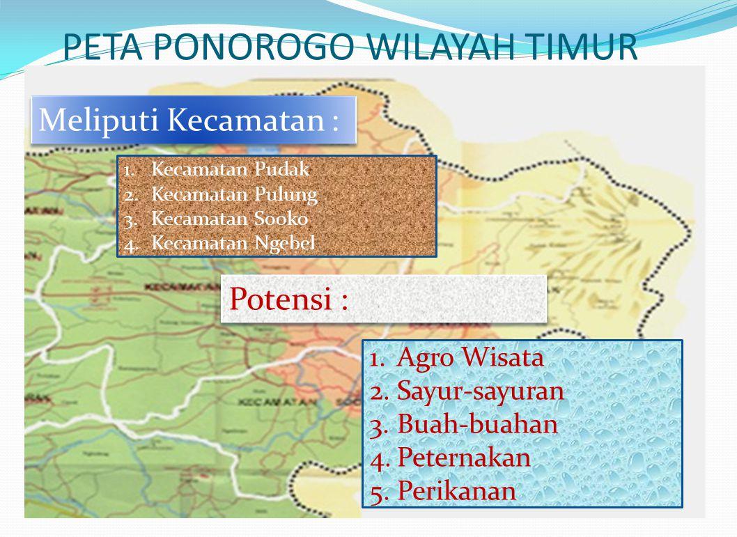 PETA PONOROGO WILAYAH TIMUR
