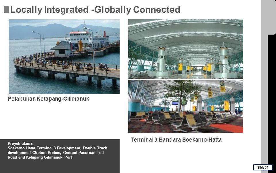 Locally Integrated -Globally Connected
