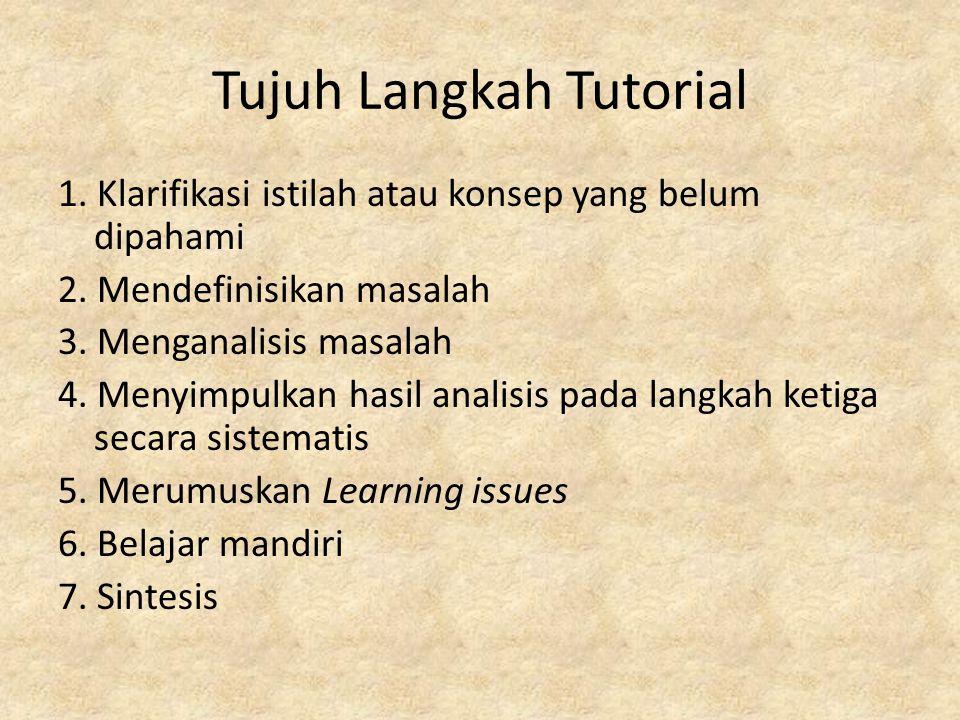 Tujuh Langkah Tutorial