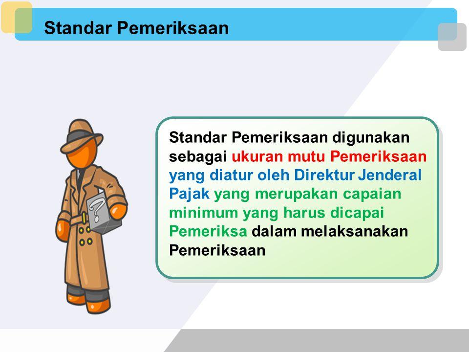 Standar Pemeriksaan