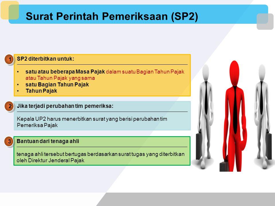 Surat Perintah Pemeriksaan (SP2)