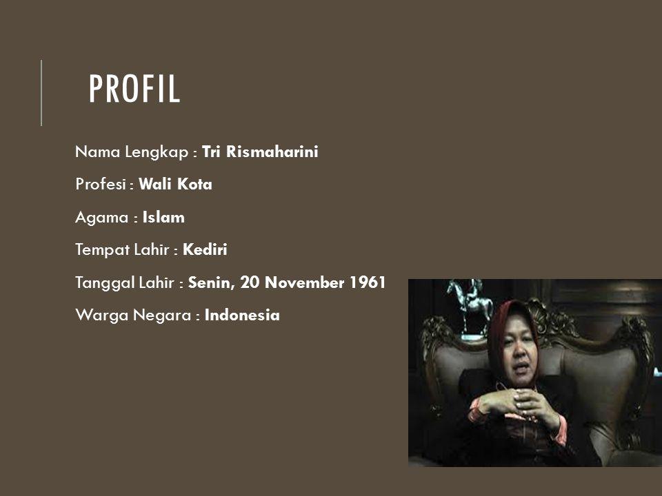 Profil Nama Lengkap : Tri Rismaharini Profesi : Wali Kota