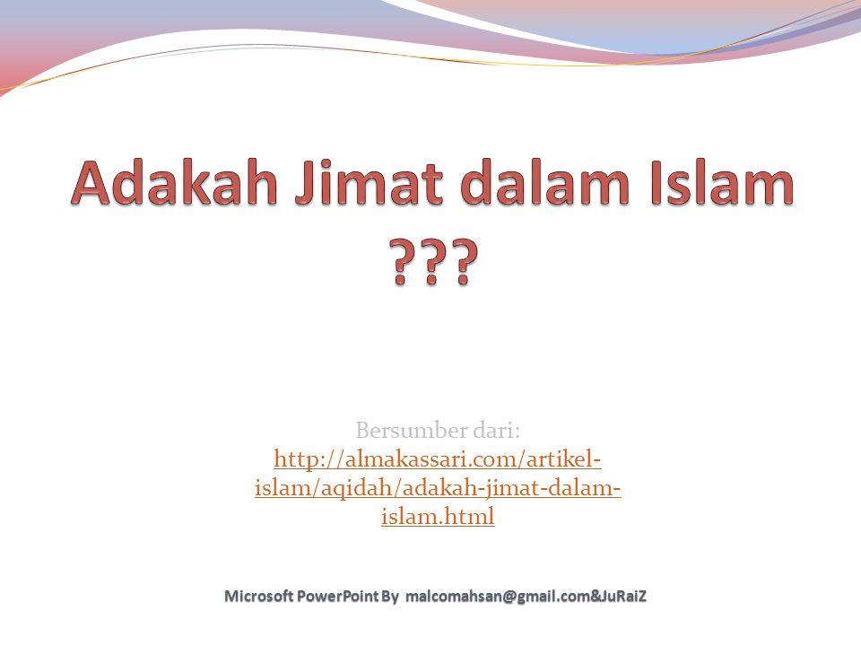 Adakah Jimat dalam Islam