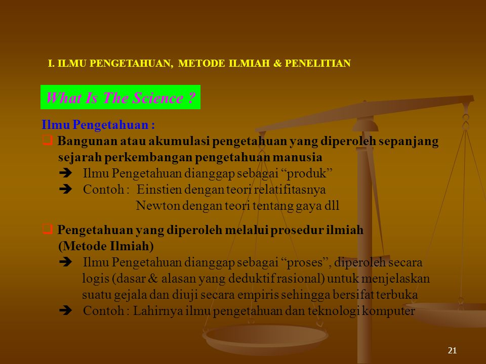 What Is The Science Ilmu Pengetahuan :