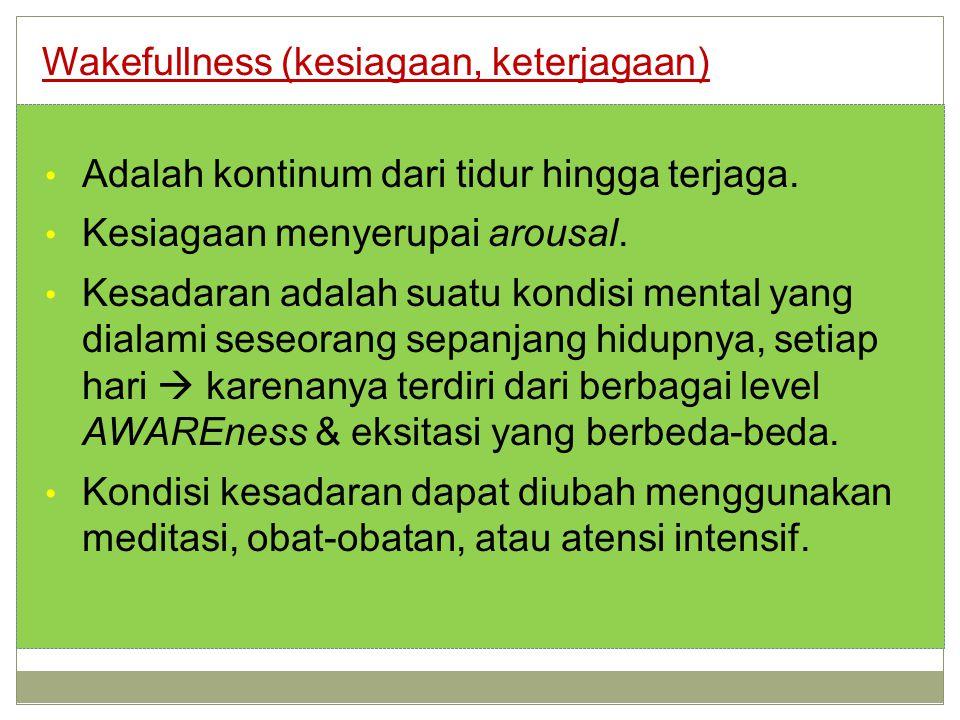 Wakefullness (kesiagaan, keterjagaan)