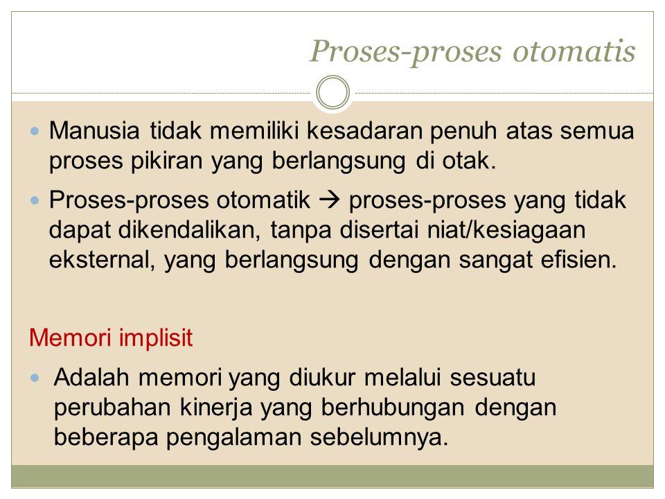 Proses-proses otomatis
