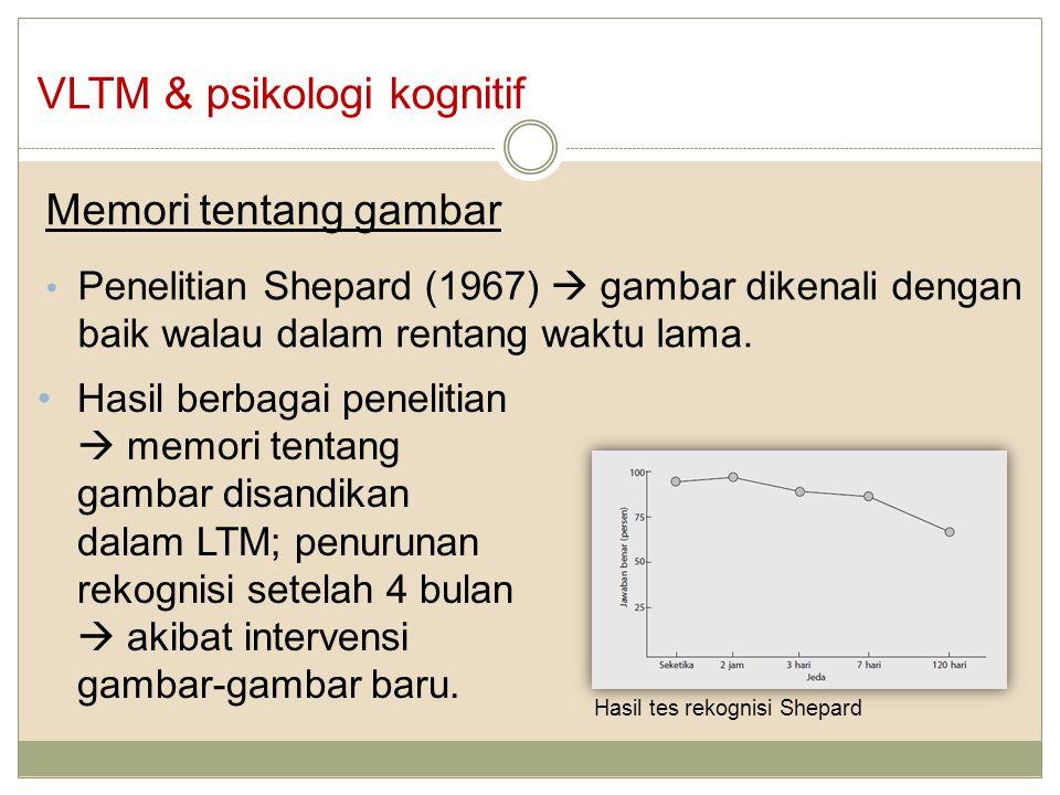 VLTM & psikologi kognitif