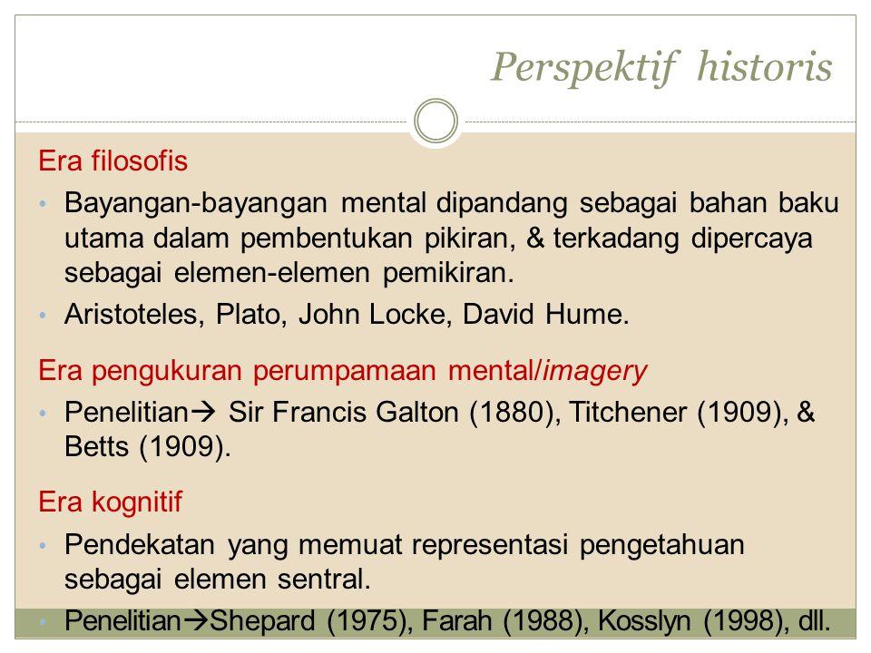 Perspektif historis Era filosofis