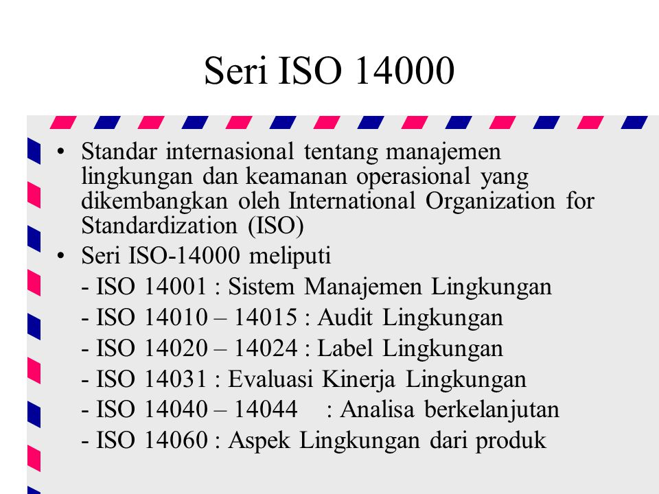 Seri ISO 14000