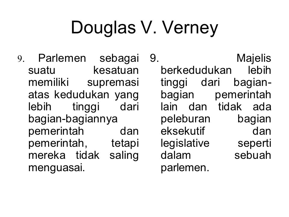 Douglas V. Verney