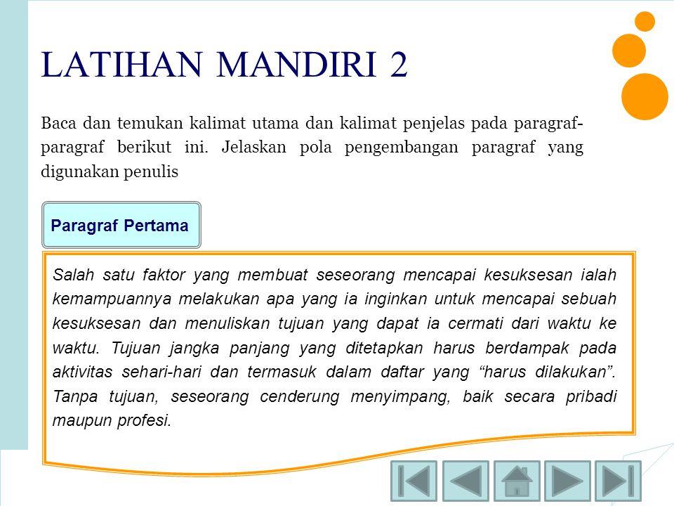 LATIHAN MANDIRI 2