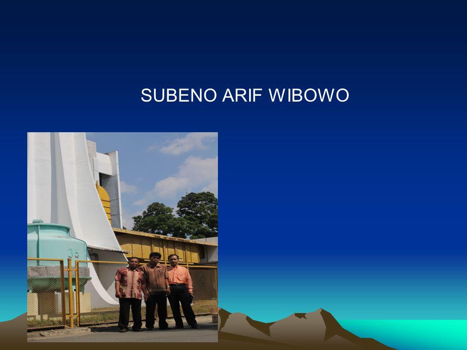 SUBENO ARIF WIBOWO