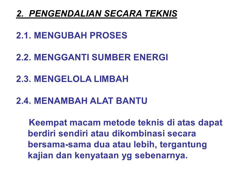 2. PENGENDALIAN SECARA TEKNIS
