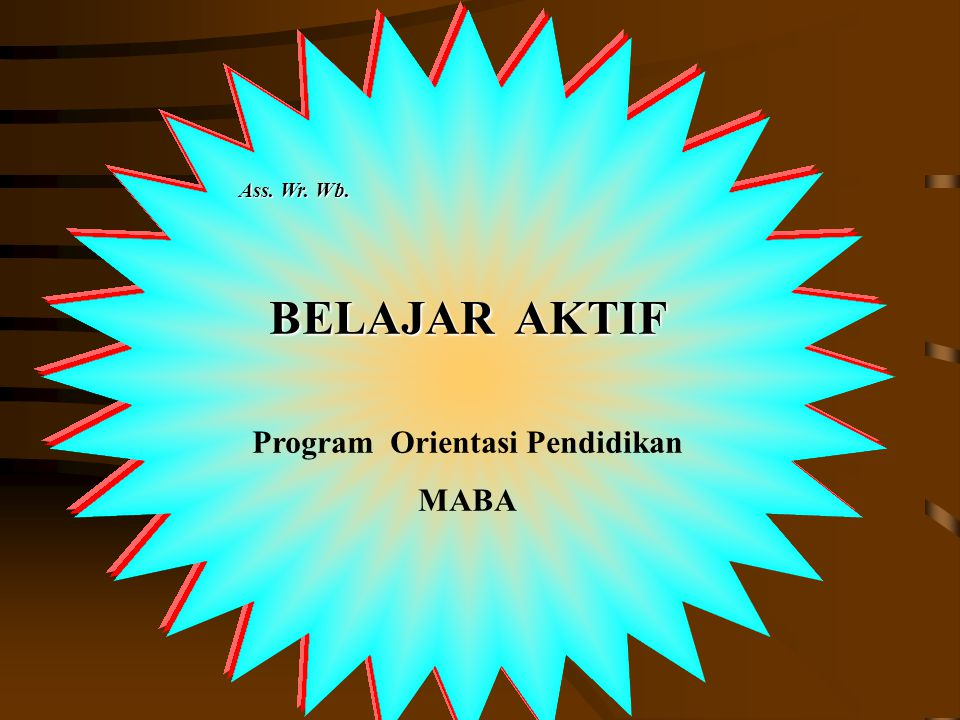 Program Orientasi Pendidikan