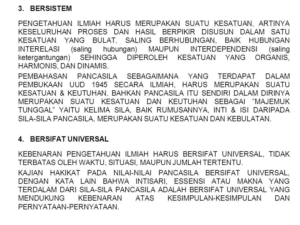3. BERSISTEM