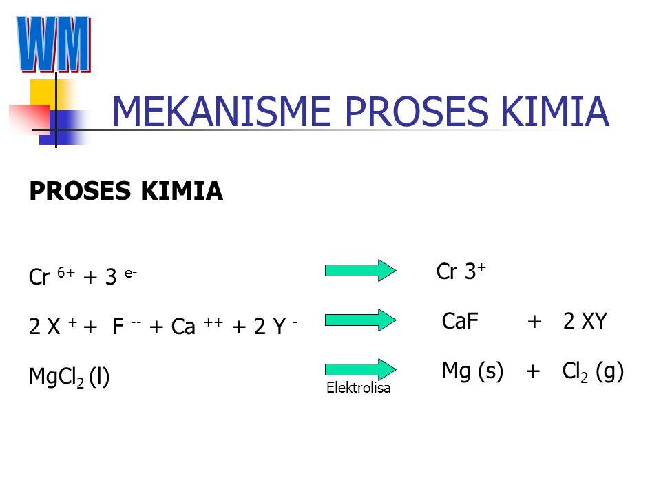 MEKANISME PROSES KIMIA
