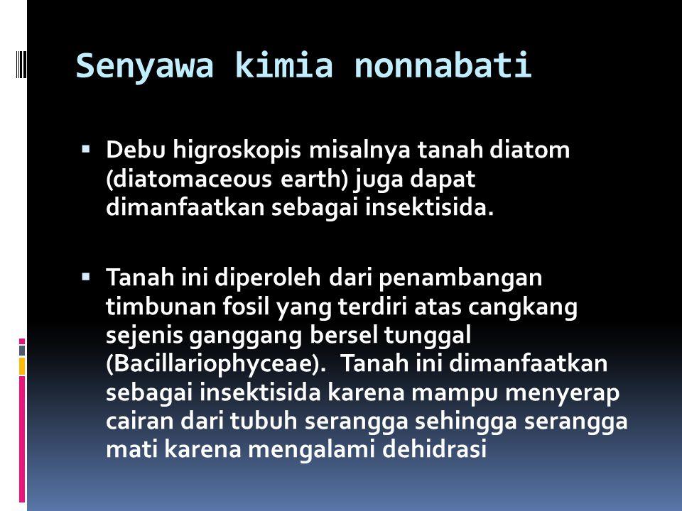 Senyawa kimia nonnabati