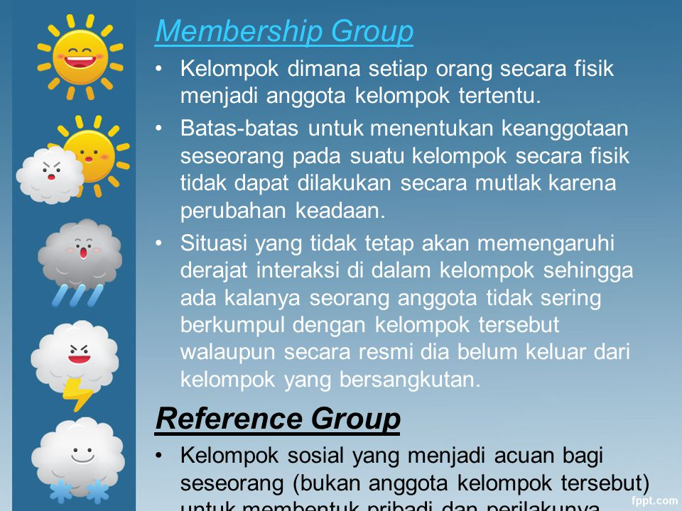 Membership Group Reference Group
