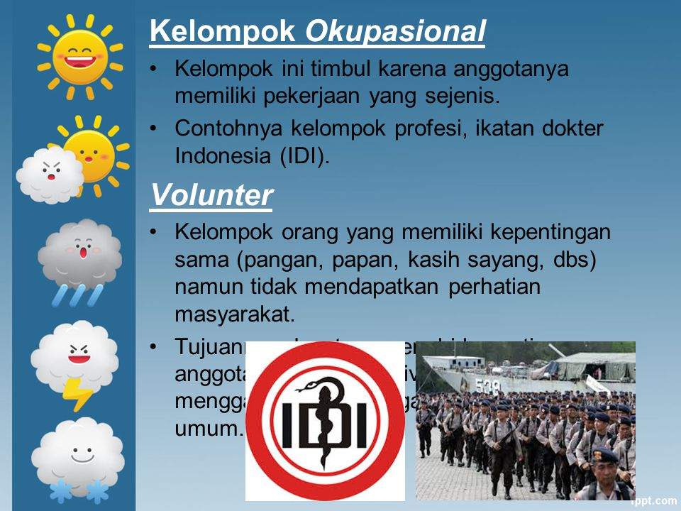 Kelompok Okupasional Volunter
