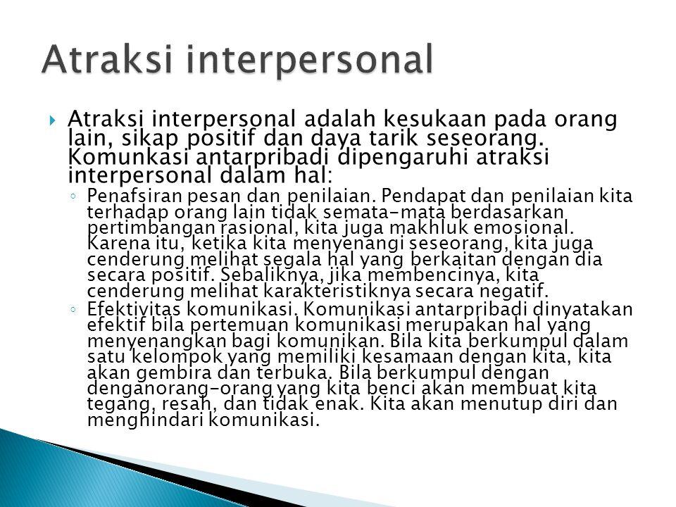 Atraksi interpersonal
