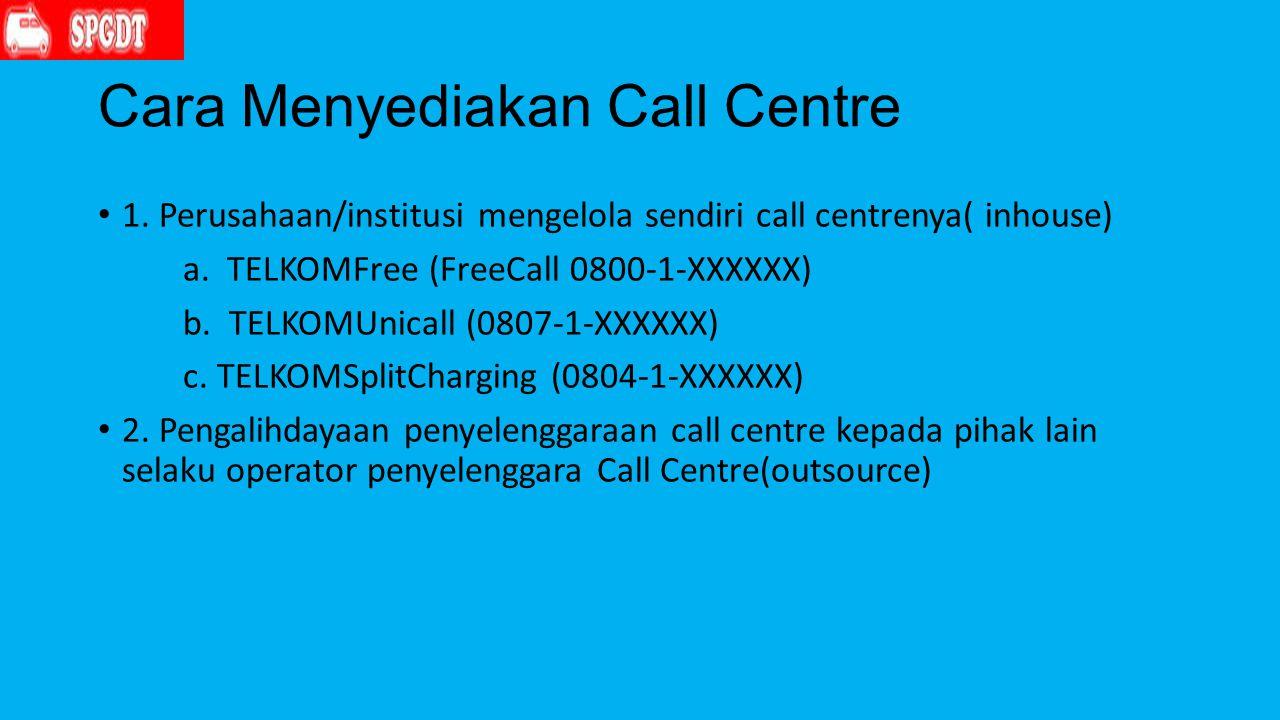 Cara Menyediakan Call Centre