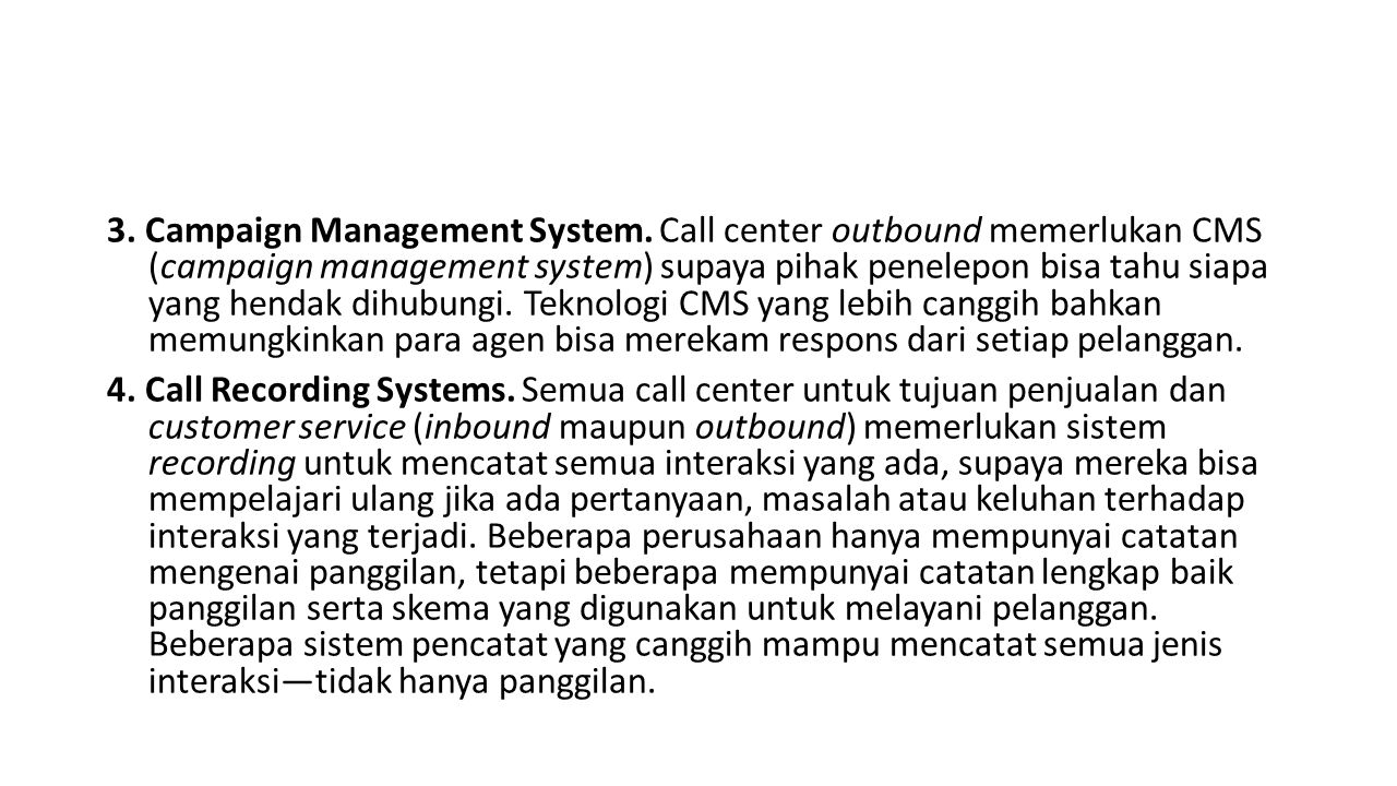 3. Campaign Management System
