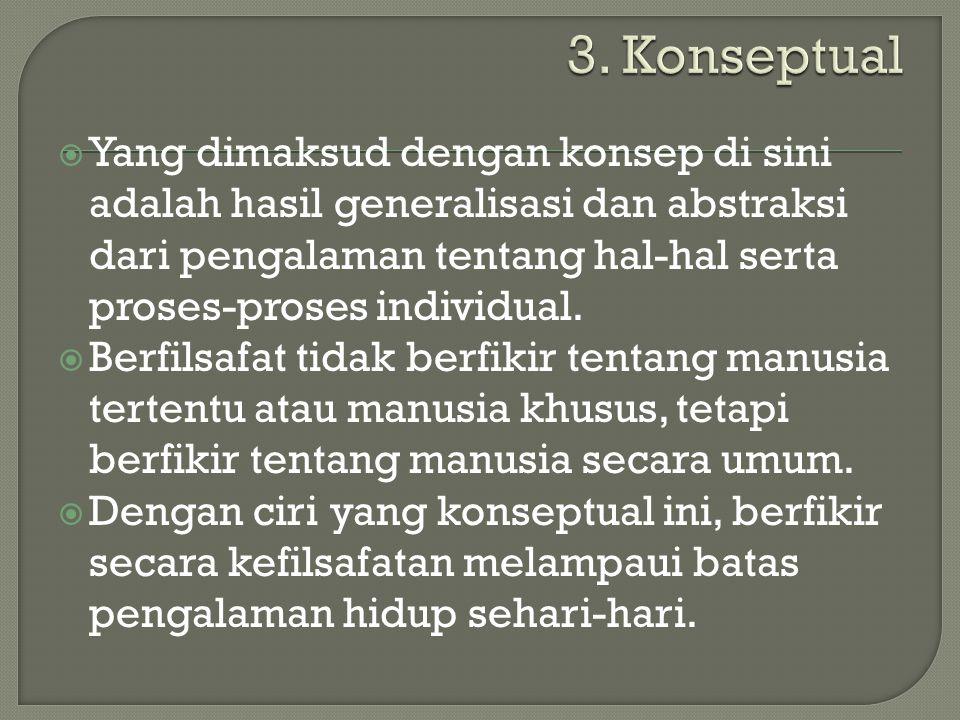 3. Konseptual