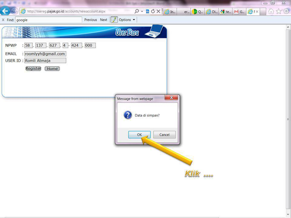 Klik .... Improving Process, Delivering Possibilities