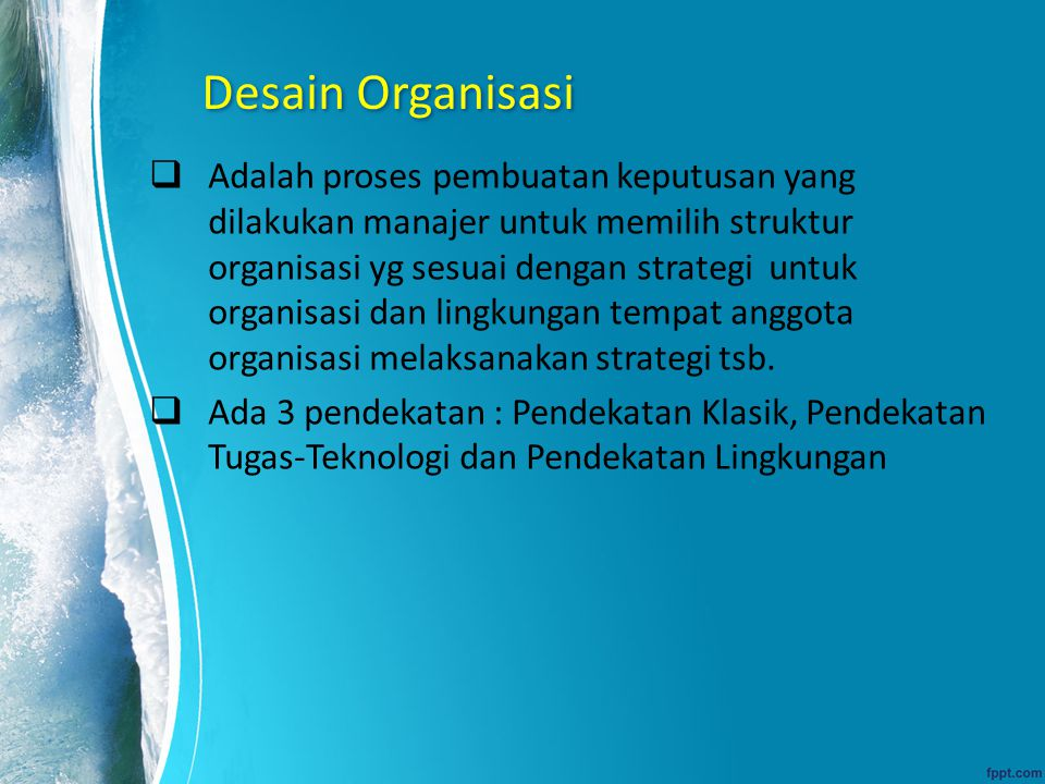 Desain Organisasi